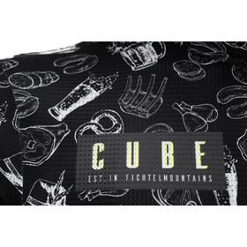 Cube Blackline CMPT SS Jersey Men, czarny/biały